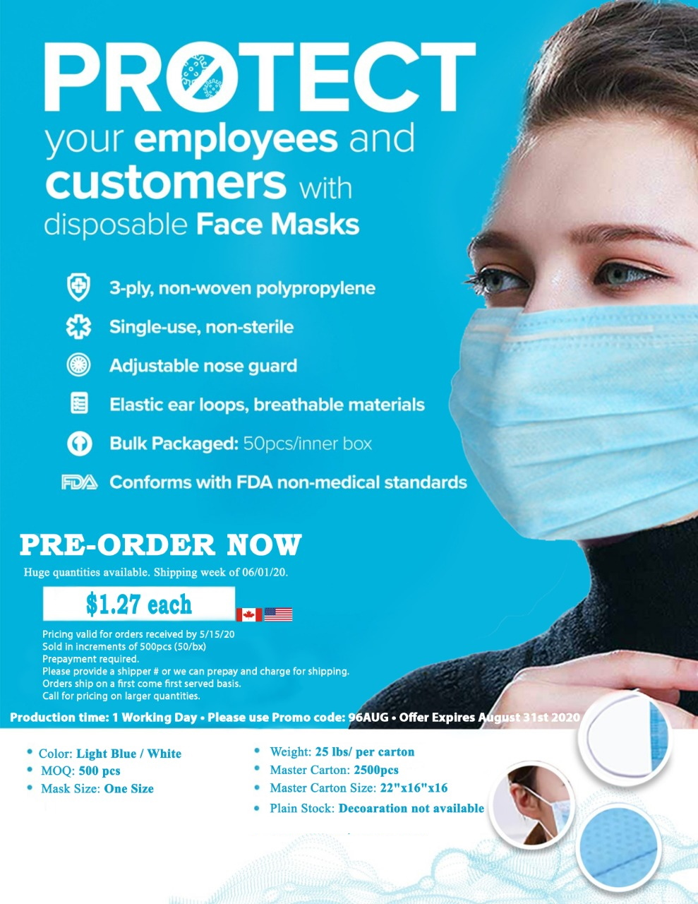 disposable ppe ABADOO