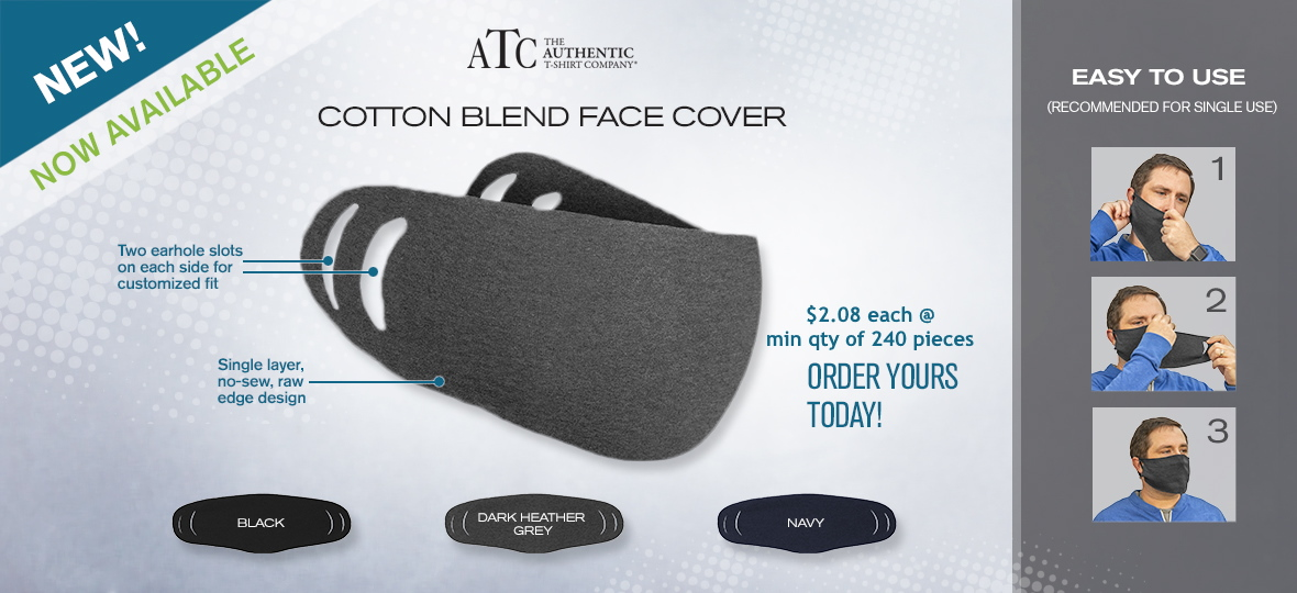 Cotton blend face cover ABADOO