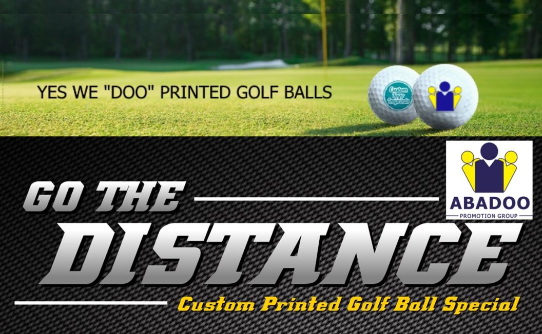 Golf Ball Special Regina LogoSTUFF ABADOO