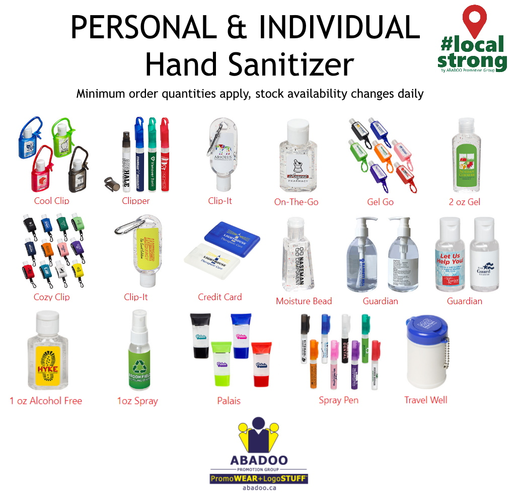 Personal Hand Sanitizer ABADOO PPE