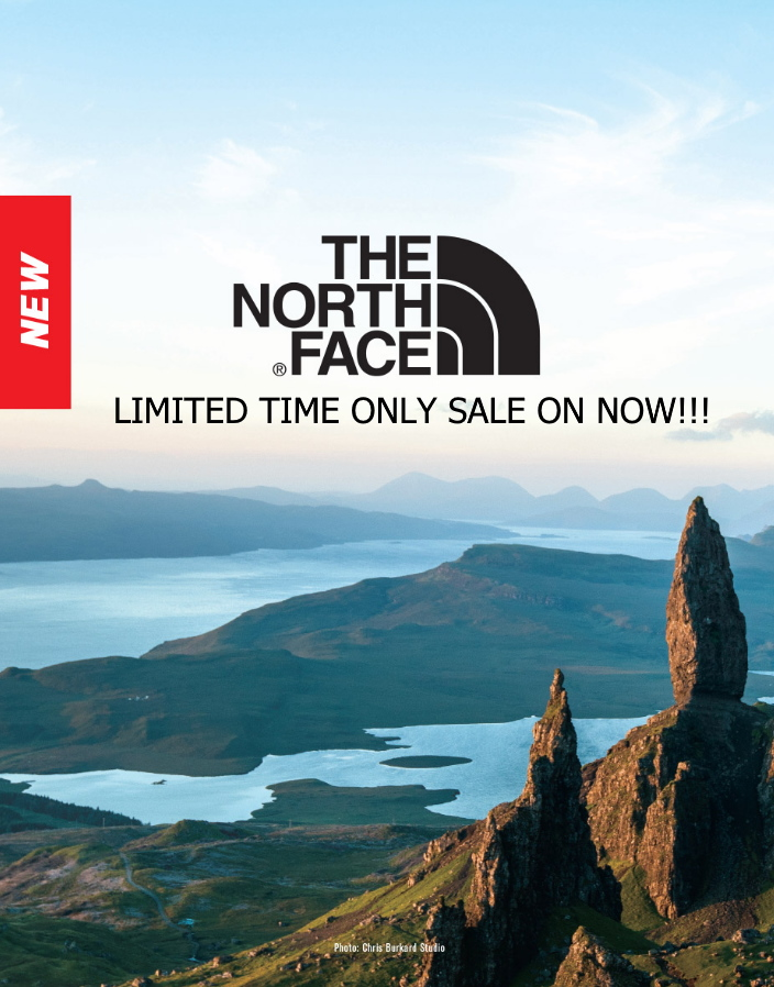The North Face sale ABADOO promotional products Regina