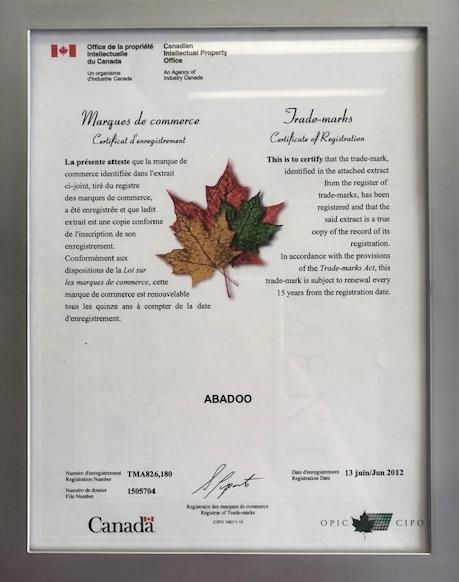 ABADOO ABADOO Trademark