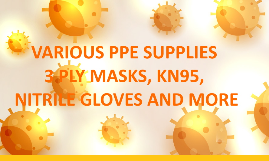 VARIOUS PPE SUPPLIES FROM ABADOO PROMOTION GROUP